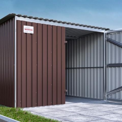 Wizualizacje garaży wykonane dla firmy Bomstal.