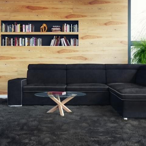 Wizualizacja sofy wykonana dla firmy BRW