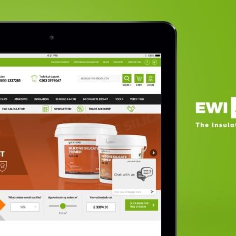 Sklep internetowy - EWI Store - specjaliści od ociepleń
