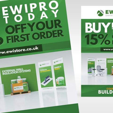 Ulotka promocyjna firmy EWI Pro