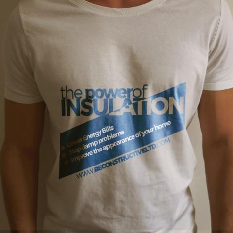 Projekt koszulki firmowej dla firmy EWI Pro.